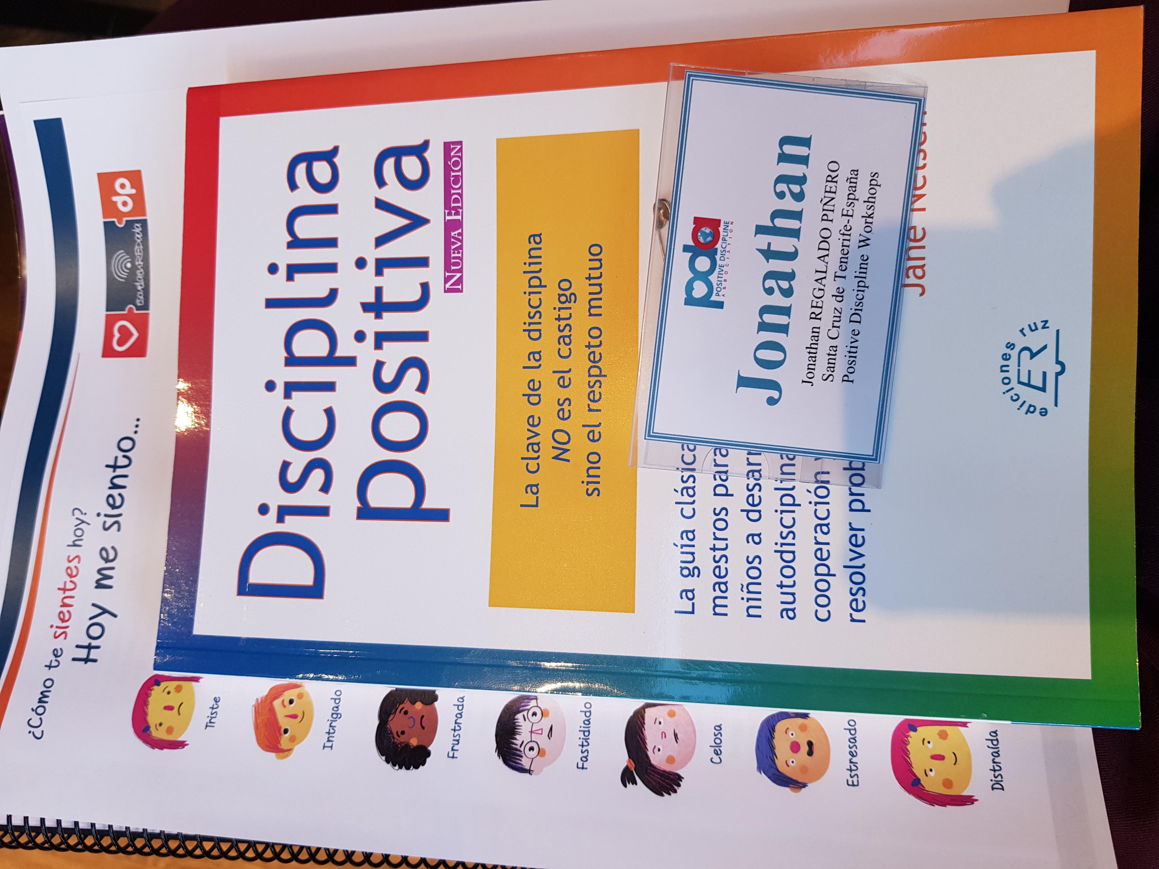 Formación recibida en Disciplina Positiva, 2018