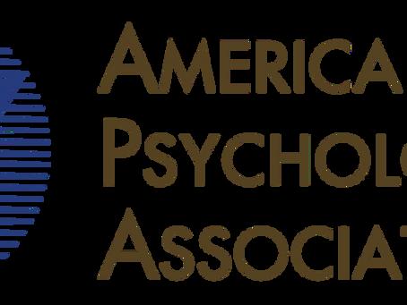 LA ASOCIACIÓN AMERICANA DE PSICOLOGÍA RECONOCE EL TRABAJO SOCIAL CLÍNICO Y SU COMPETENCIA PSICOTERAP