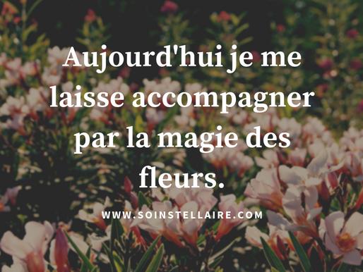"""Une attention portée à ...""""l'âme agit """"des fleurs!"""