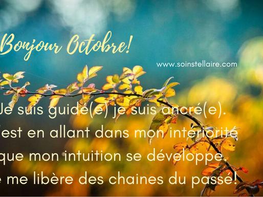 Une attention portée ...aux énergies d'Octobre!