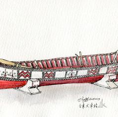 達悟拼板舟 (Tao canoe)