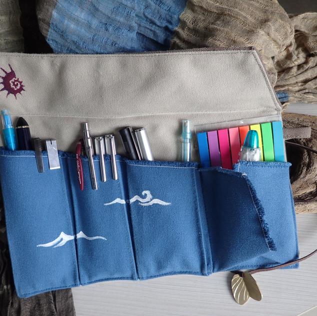 Seashore pen case IV