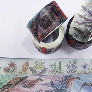 Decorative masking tape designs