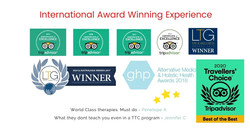 International Awards For Wellness Therapy and Yoga