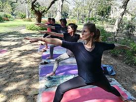 Yoga in Lodhi Garden   Awaken Inner Buddha Yoga