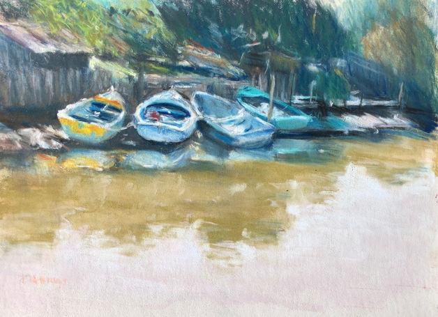 Elly Abrat 'Along Kananook Creek'