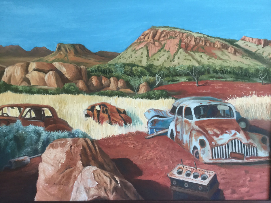 Wayne Brewster 'Abandoned Cars'