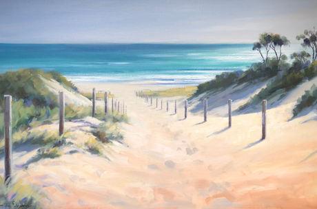 Vivi Palegeorge 'Pathway To Beach' St Andrews, Mornington Peninsula
