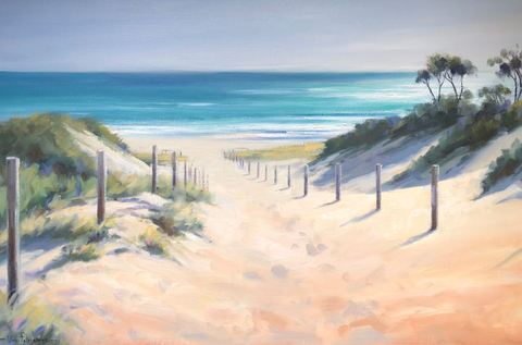 Vivi Palegeorge 'Pathway To Beach' St Andrews, Mornington Peninsula
