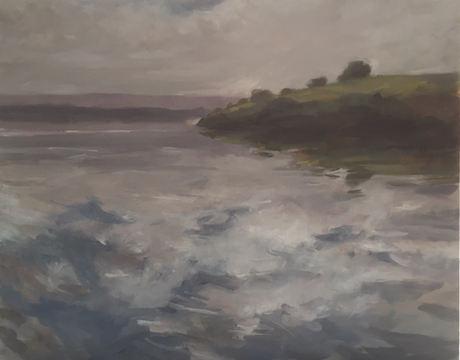 Vicki McInnes 'Skies Over Lake Glenmaggie'