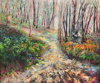 Sharon DeSailly 'Bush Track After The Rain'
