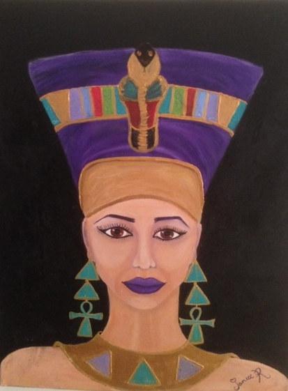 Janice Richardson 'Queen Nefertiti'