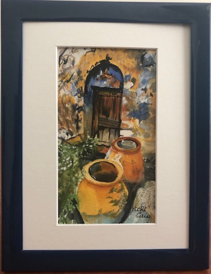 Vicki Grig 'Cretan Terracotta Village Home'