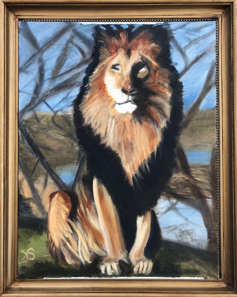 Kate Shires 'Proud Lion'