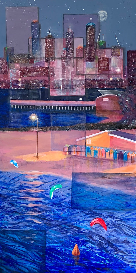 Karen Hall 'Hot Summer Night'