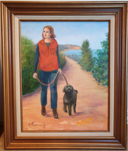 Ann Kennedy Black 'Walking The Dog'