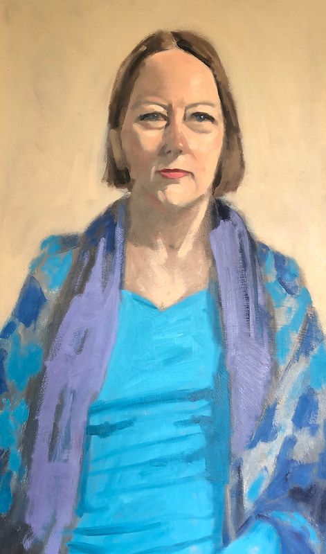 Cathy Brown 'Portrait Sitting'