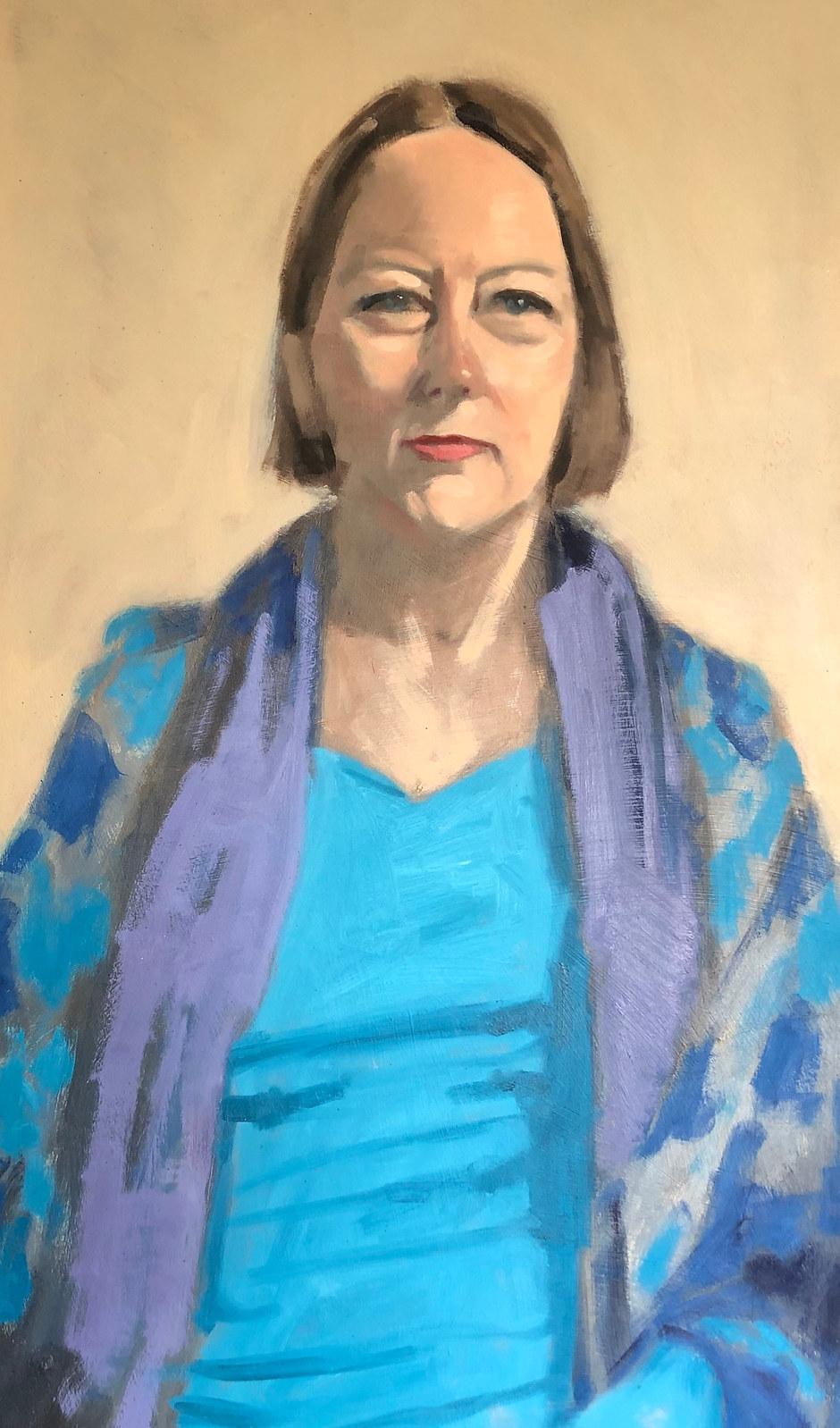 Cathy Brown 'Portrait Sitting'