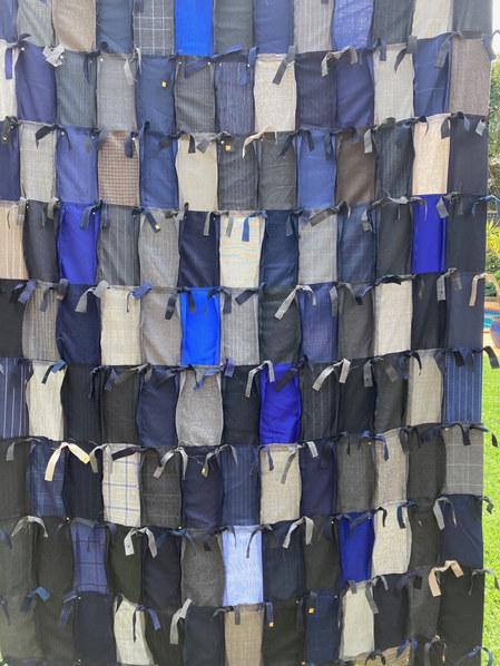 Monique Jedwab 'Textile Wallhanging'