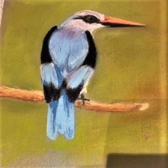 Devika Fernando 'Woodland Kingfisher'