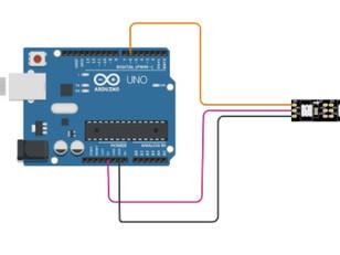 Interfacing Neopixel strip with Arduino-Tinkercad