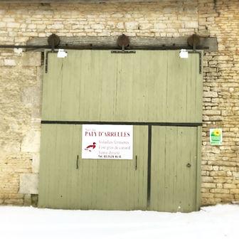 Porte d'entrée du corps de ferme