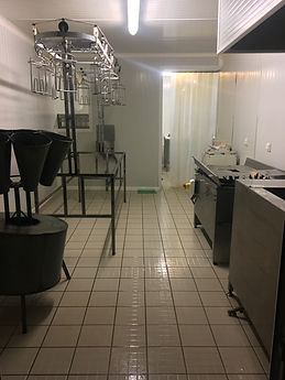 Salle d'abattage du laboratoire