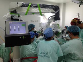 Tecnología al servicio de la neurocirugía en el HUV.