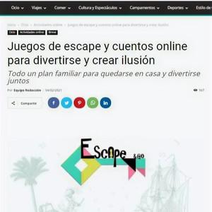 QHN con ESCAPEGO JUEGOS