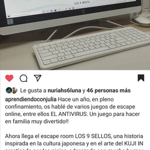 APRENDIENDO CON JULIA CON ESCAPEGO JUEGOS