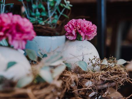 Der Osterhase bringt jetzt auch Blumen