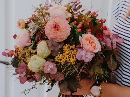 Blumen machen das Leben bunt und schön!