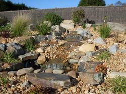 landscape rock garden