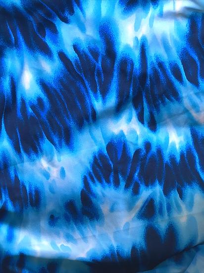 Indigo Tie Dye Custom Bikini
