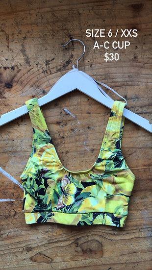 Lemons swim top (size 6)