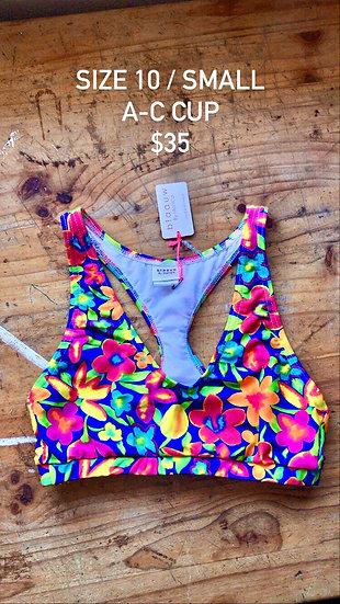 Samba swim top (size 10)