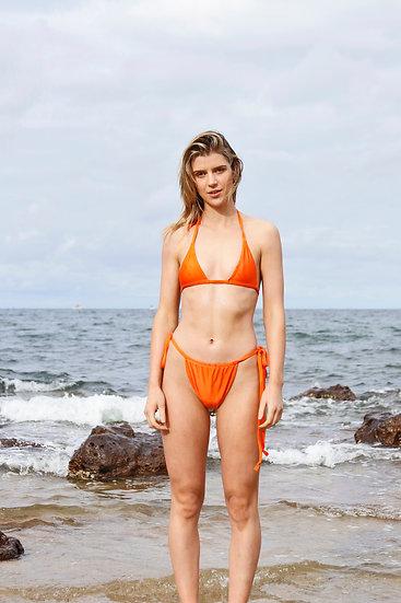 Sherbet Triangle Bikini Top