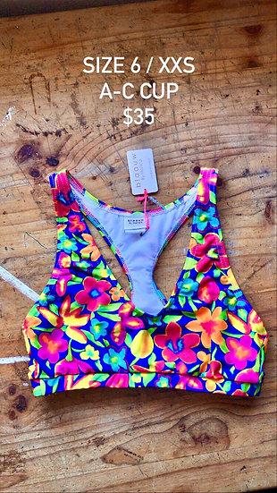 Samba swim top (size 6)