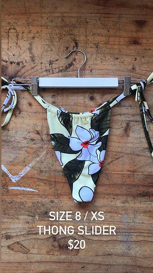 Aloha slider style thong (size 8)