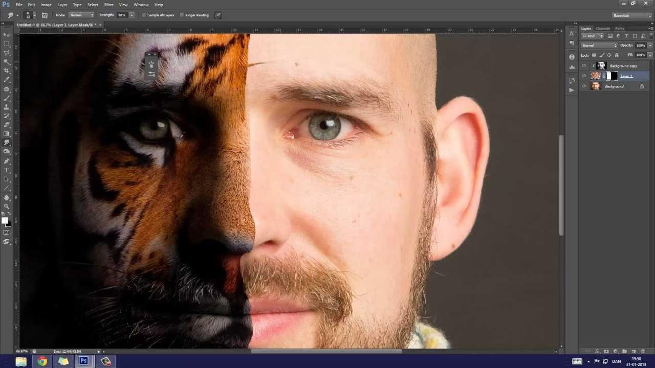 Bildbearbeitung Photoshop