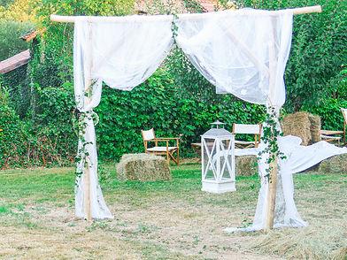 Petite lune & Confettis - Arche mariage