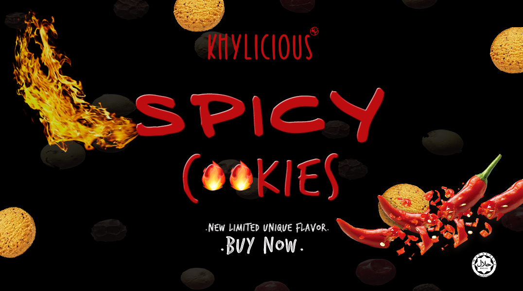 KHYLICIOUS SPICY COOKIES