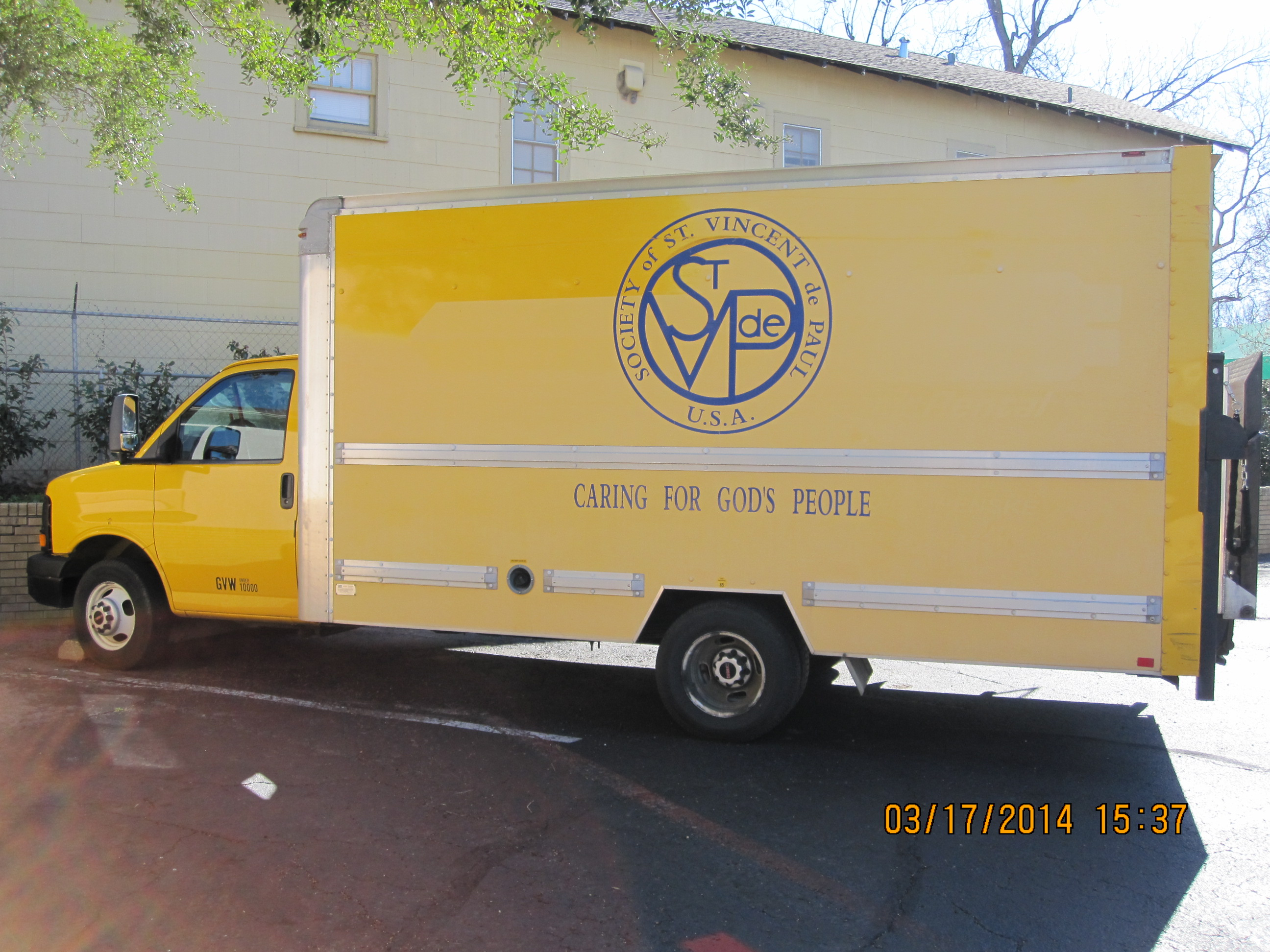 Pick-up and Delivery truck
