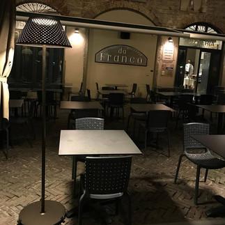 Illuminazione Outdoor Ristorante Da Franco, CIttà Alta