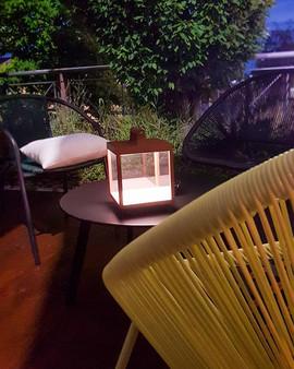 Illuminazione dehor bar, TREX Bergamo