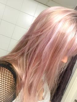 Lavender pastel color done by Sonny