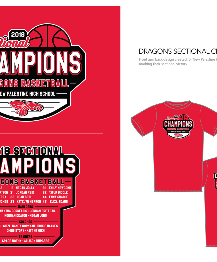Apparal graphic - Basketball Champs
