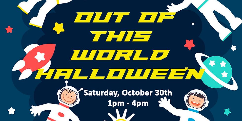 Sat. Oct 30 (Event 1pm-4pm!)