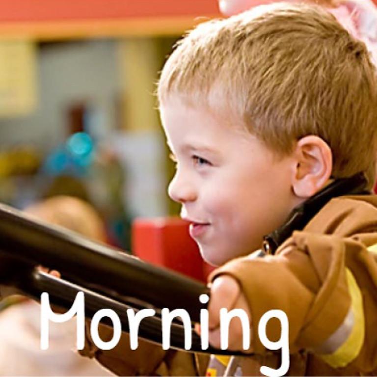 Fri. May 21 - Morning Play Time