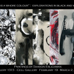 """Red is a Whore Colour"" : Explorations in Black and White Upcoming Show"